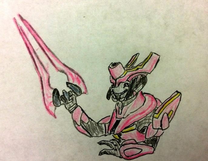 Pink Energy Sword for Elite General by Justinnator6
