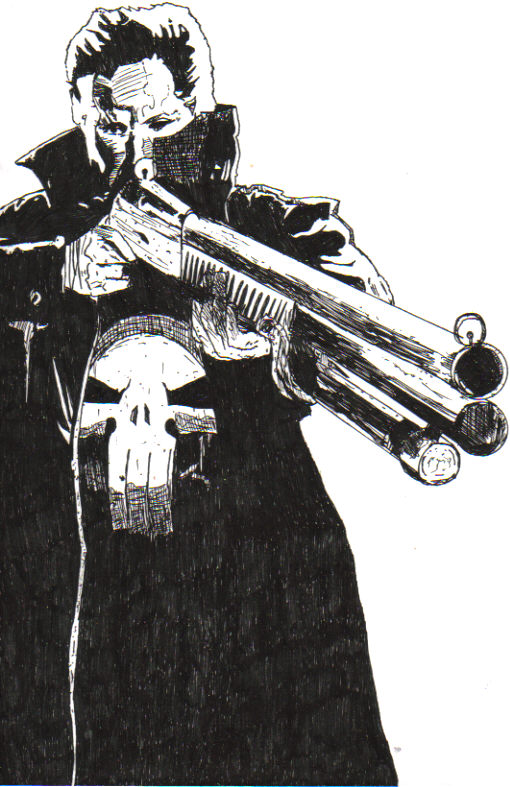 Punisher by j_sparrow