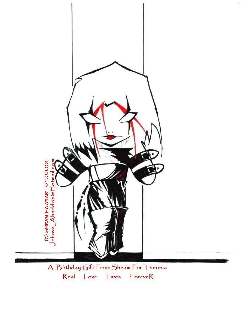 The Crow - Chibi Edition by jaganar
