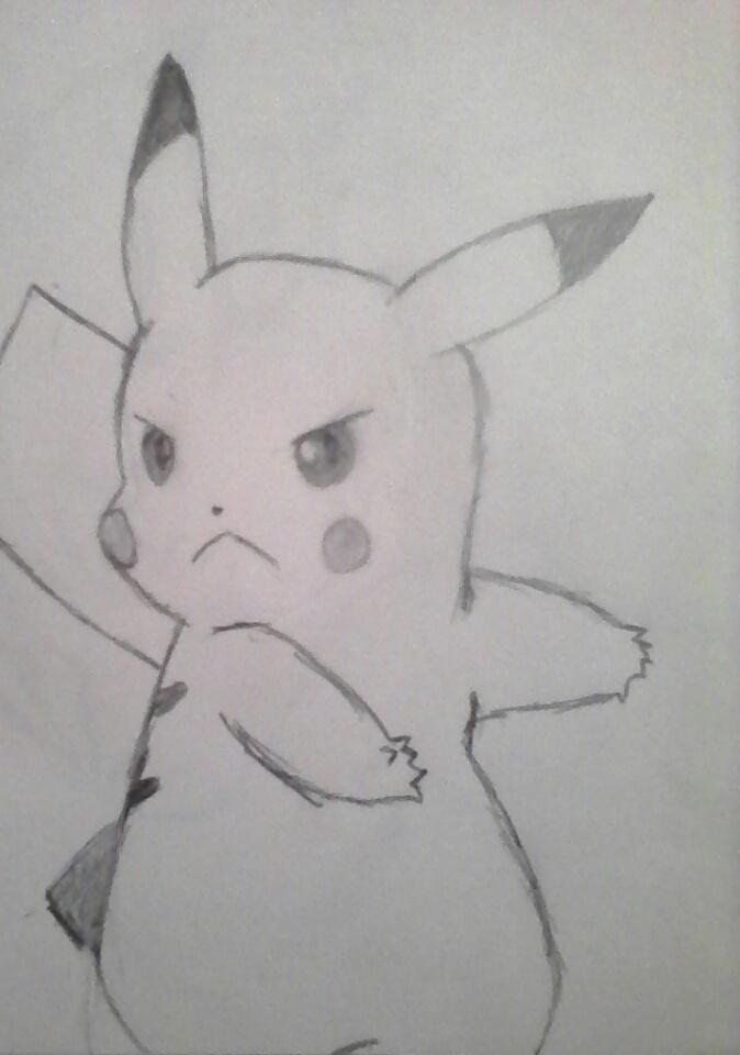pikachu by jaketobiwhatever
