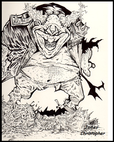 Clown by james7371