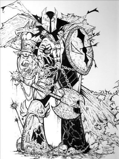 my medieval spawn by james7371