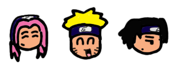 team 7 chibi heads by jenghis_02