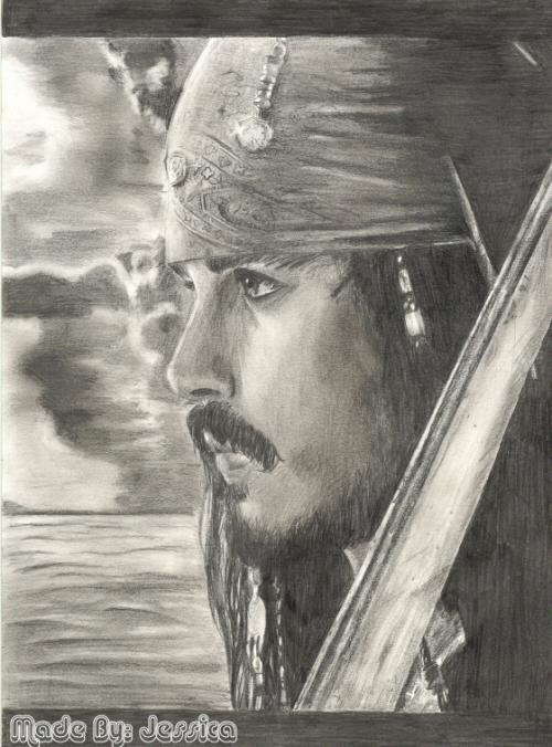 !Jack Sparrow :Johnny Depp: by jessie