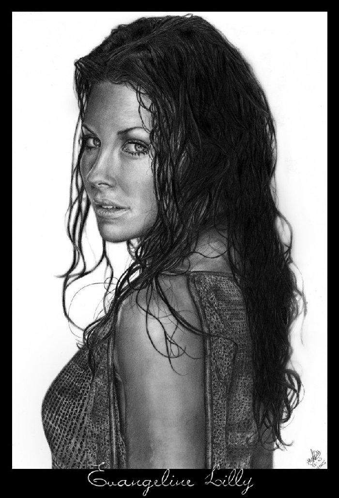 Evangeline Lilly by jessie