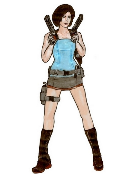 Sienna Guillory as Jill Valentine by jill-valentine