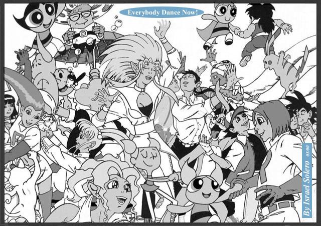 alpha: Anime & Cartoon (House Party) by jira