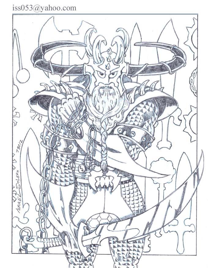 alpha: Fear Guardian (pencil) by jira