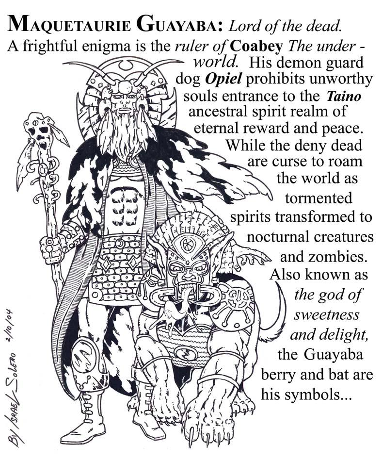 alpha:  Maquetaurie (Death God) by jira