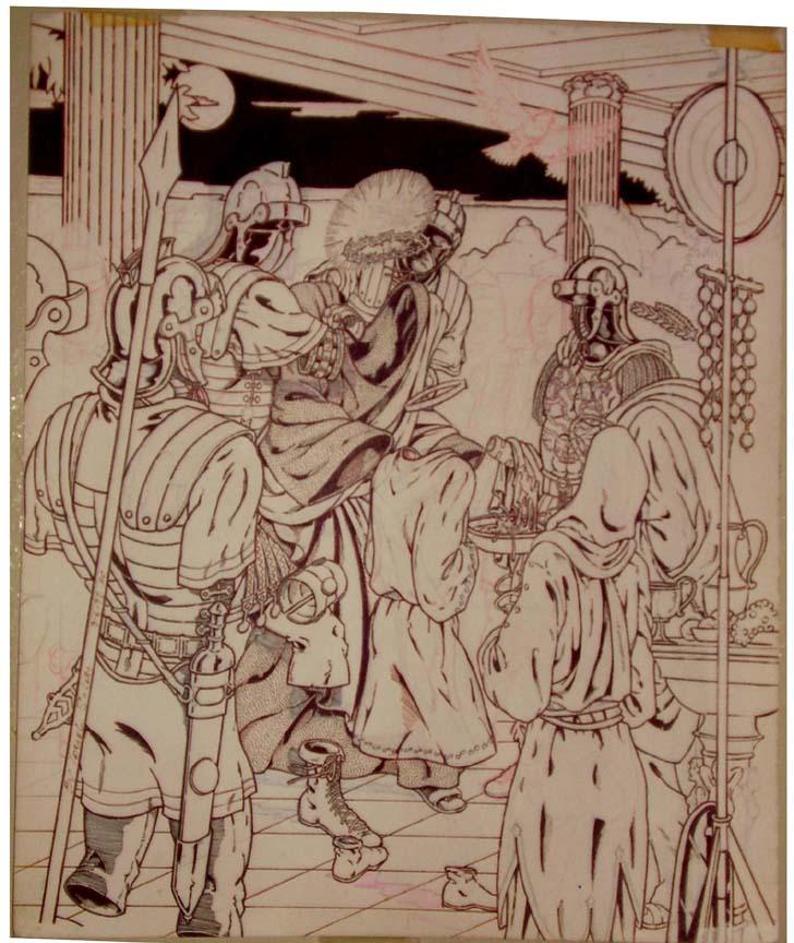 1998: Jesus before Pontius Pilate by jira