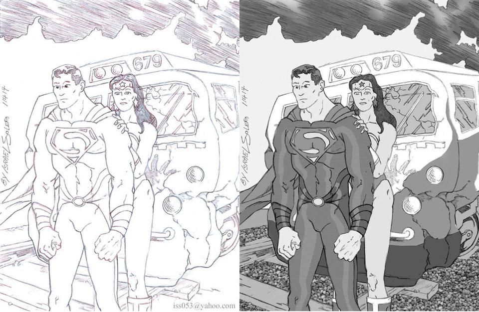 Superman New Costume (prelim) by jira