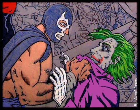 Blue Demen vs. The Joker (clr) by jira