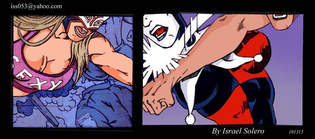 Sexy Star vs. Batman.s Harley Quinn by jira