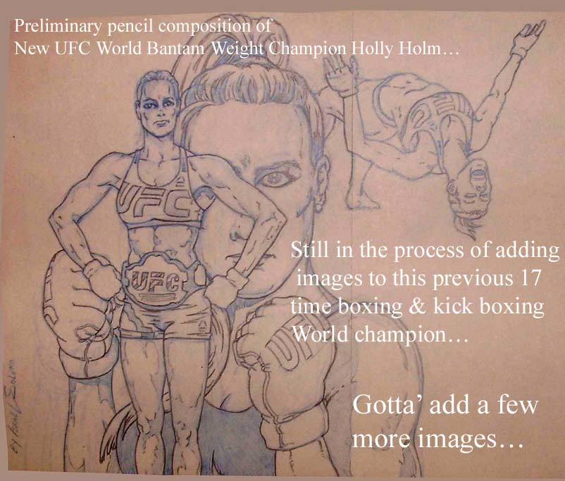 HOLLY HOLM: New UFC World Champion (Prelim) by jira