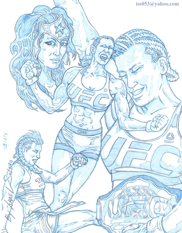 UFC Champion Miesha Tate (part 1) by jira