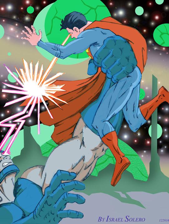 SUPERMAN vs. DARKSEID: Never Ending Battle (clr) by jira