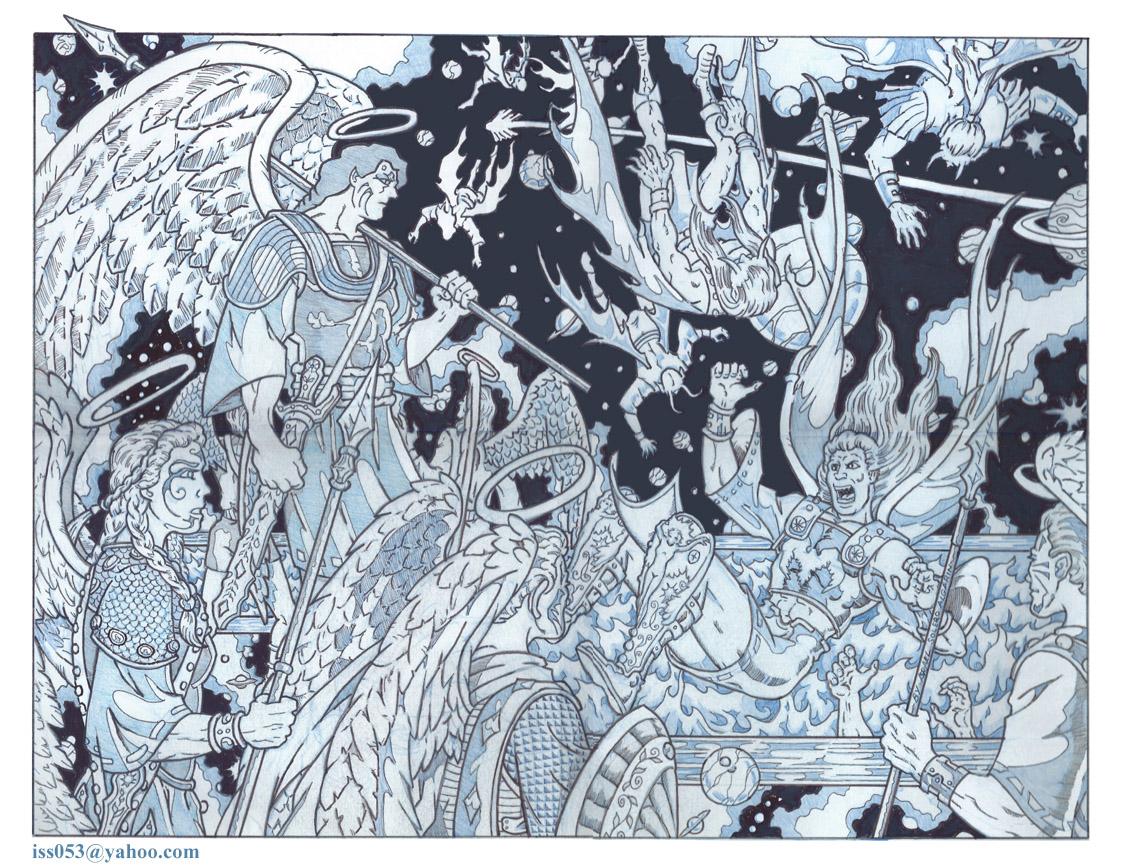 Lake Of Fire: Satan's Fall by jira