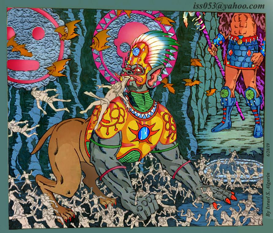 OPIEL GUABIRON; Gate Keeper Of COABEY (Arawak/Taino) by jira