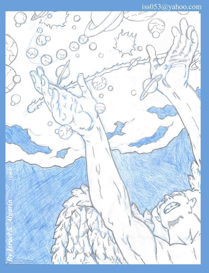 YAYA, The Ever Was... (Arawak/Taino) pencil by jira
