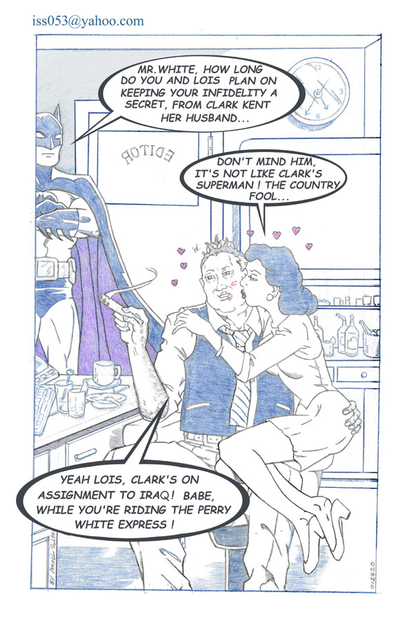 "SUPERMAN: PERRY WHITE & LOIS LANE'S ""Dark Secret"" by jira"