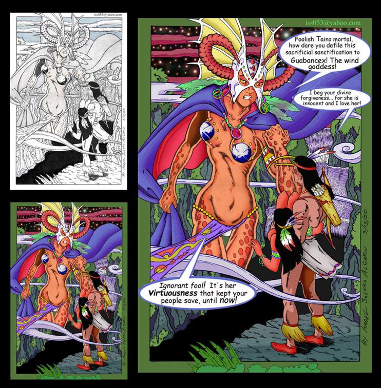"""Arawak/Taino: Guabancex """"Wind Goddess"""" SAVED...?  (clr) by jira"""