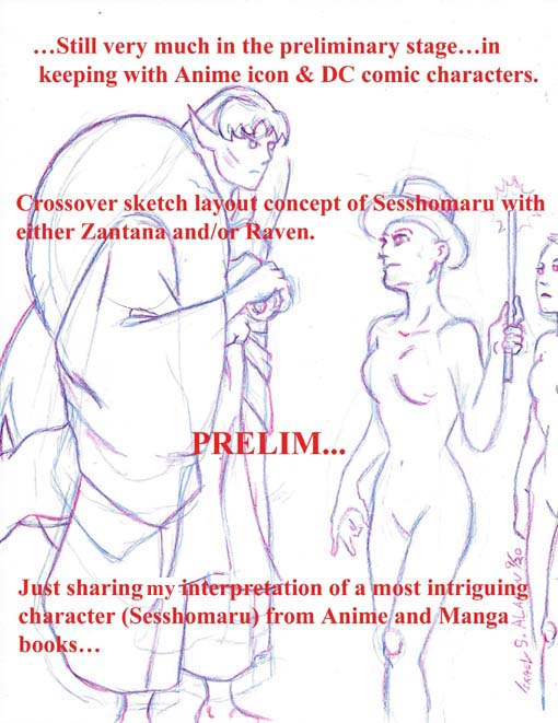 Sesshomaru Prelim concept study by jira