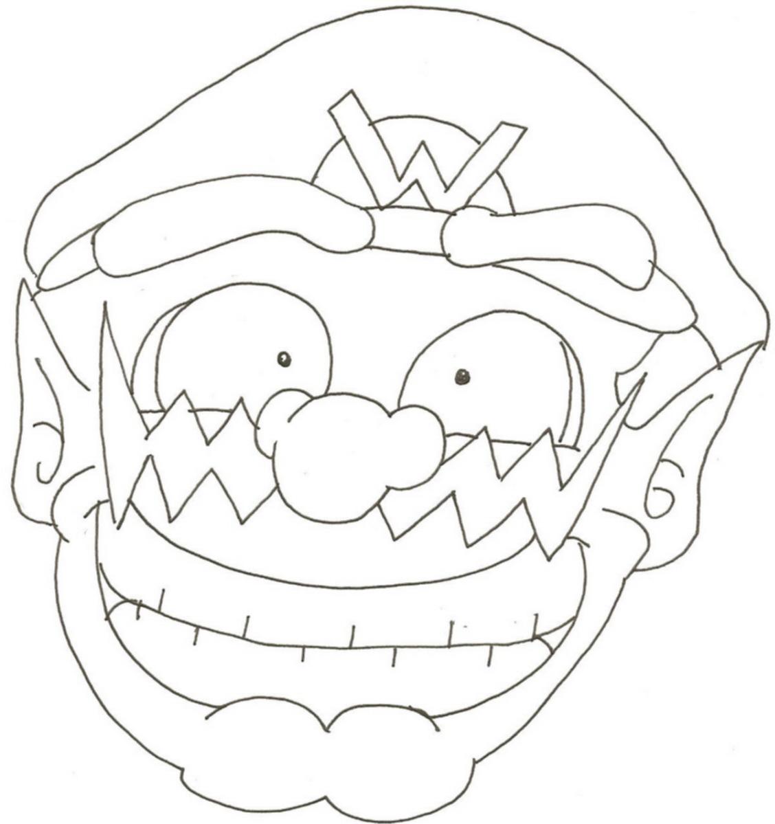 Big smile wario by jkgoomba89