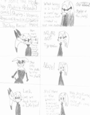 My Sonic the Hedgehog Matrix Reloaded Comic by joe537