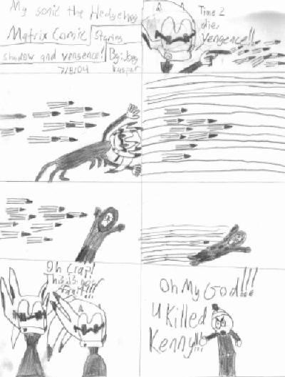 My Sonic the Hedgehog Matrix Comic by joe537