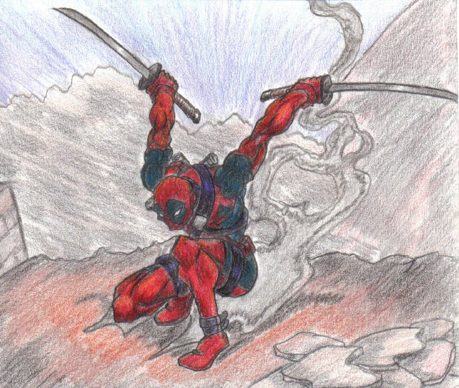 deadpool by johnny