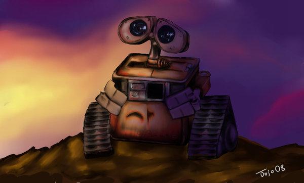 Stargazing - WALL-E by jojouk
