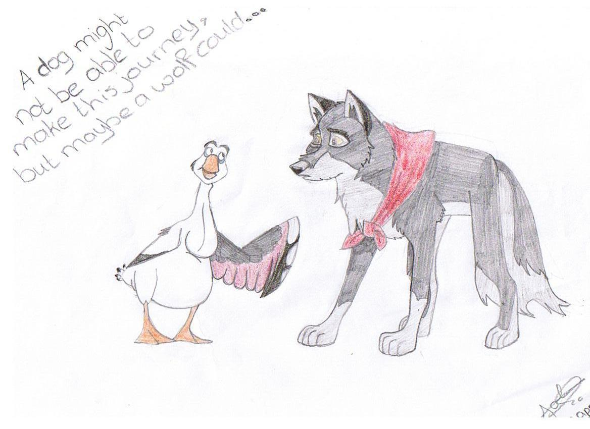 wolfdog by joline
