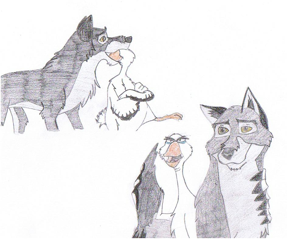 balto and boris by joline