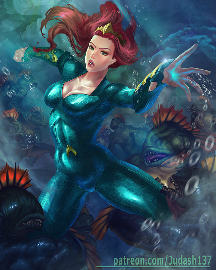 Mera and the Trenchs by judash137
