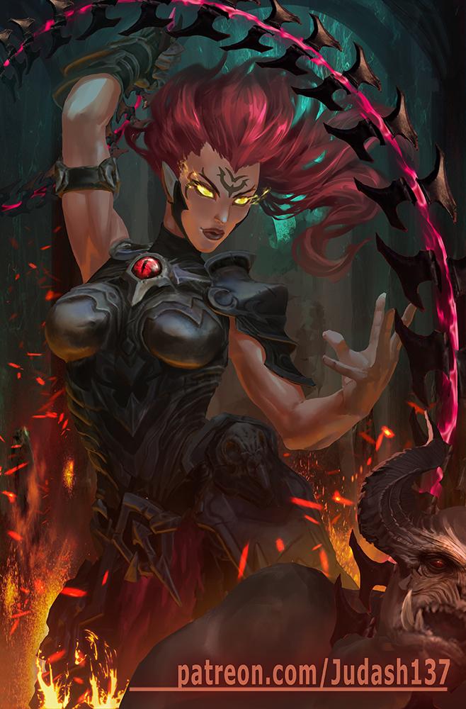 Fury (Darksiders 3) by judash137