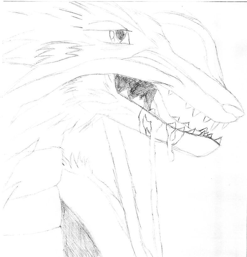 half dead dragon by junkie998