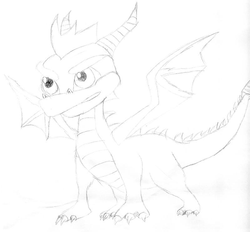 Spyro by junkie998