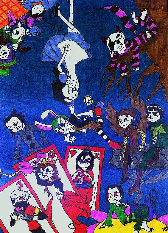 Asuka in Wonderland?! by junkie998