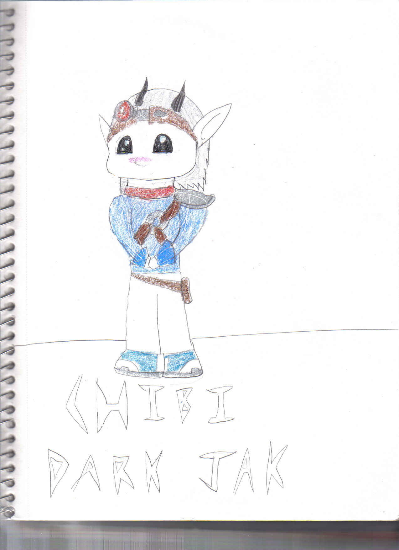 Dark Jak Chibified by jusedr
