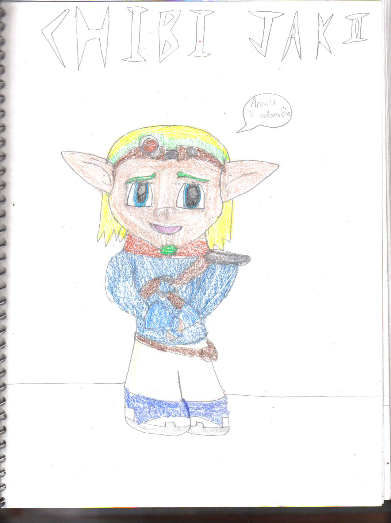 Jak Chibified by jusedr