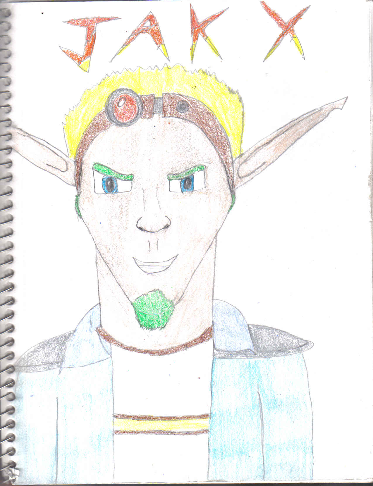 Jak's Evil Grin by jusedr