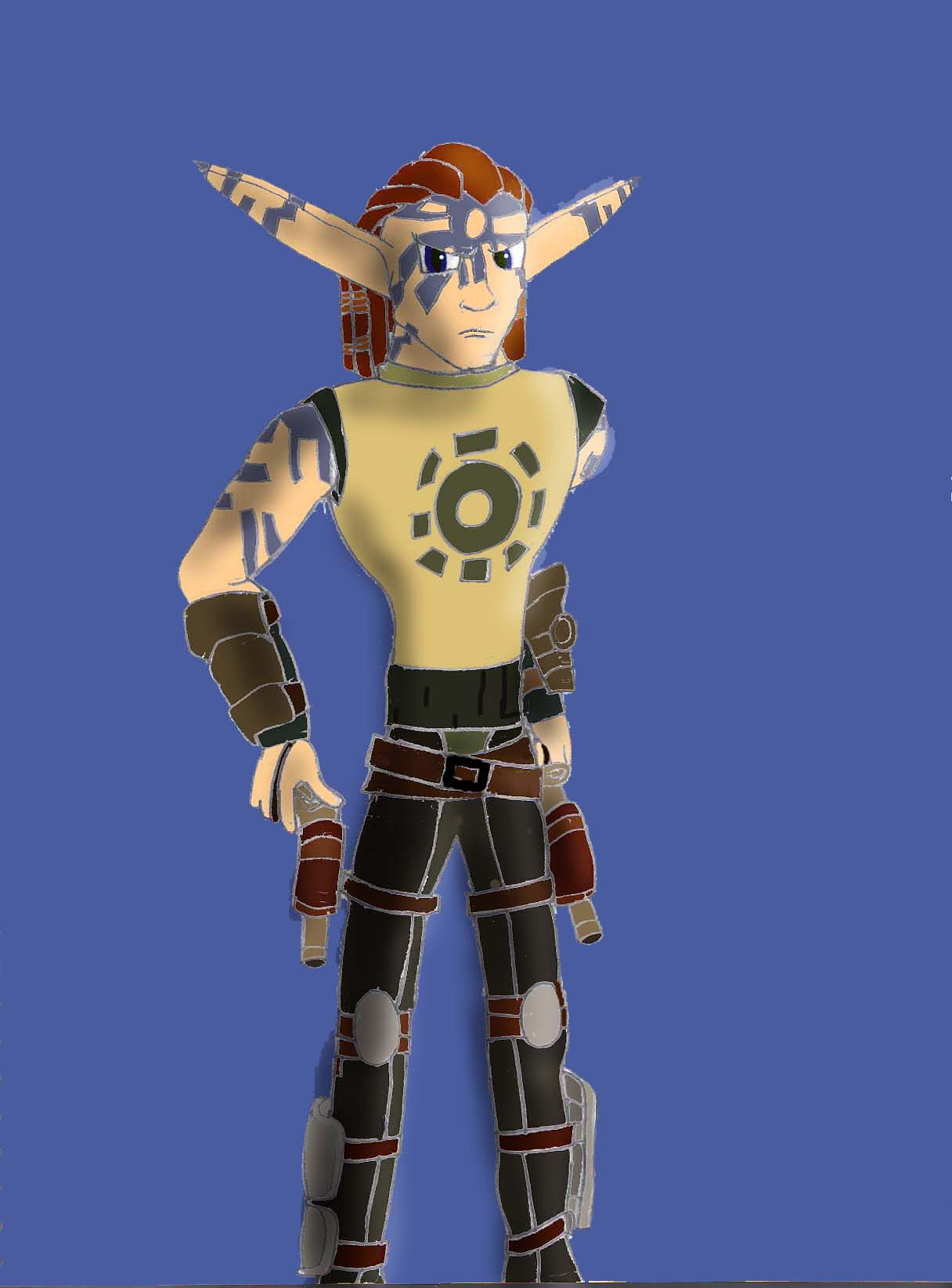 Torn Jak X Style by jusedr