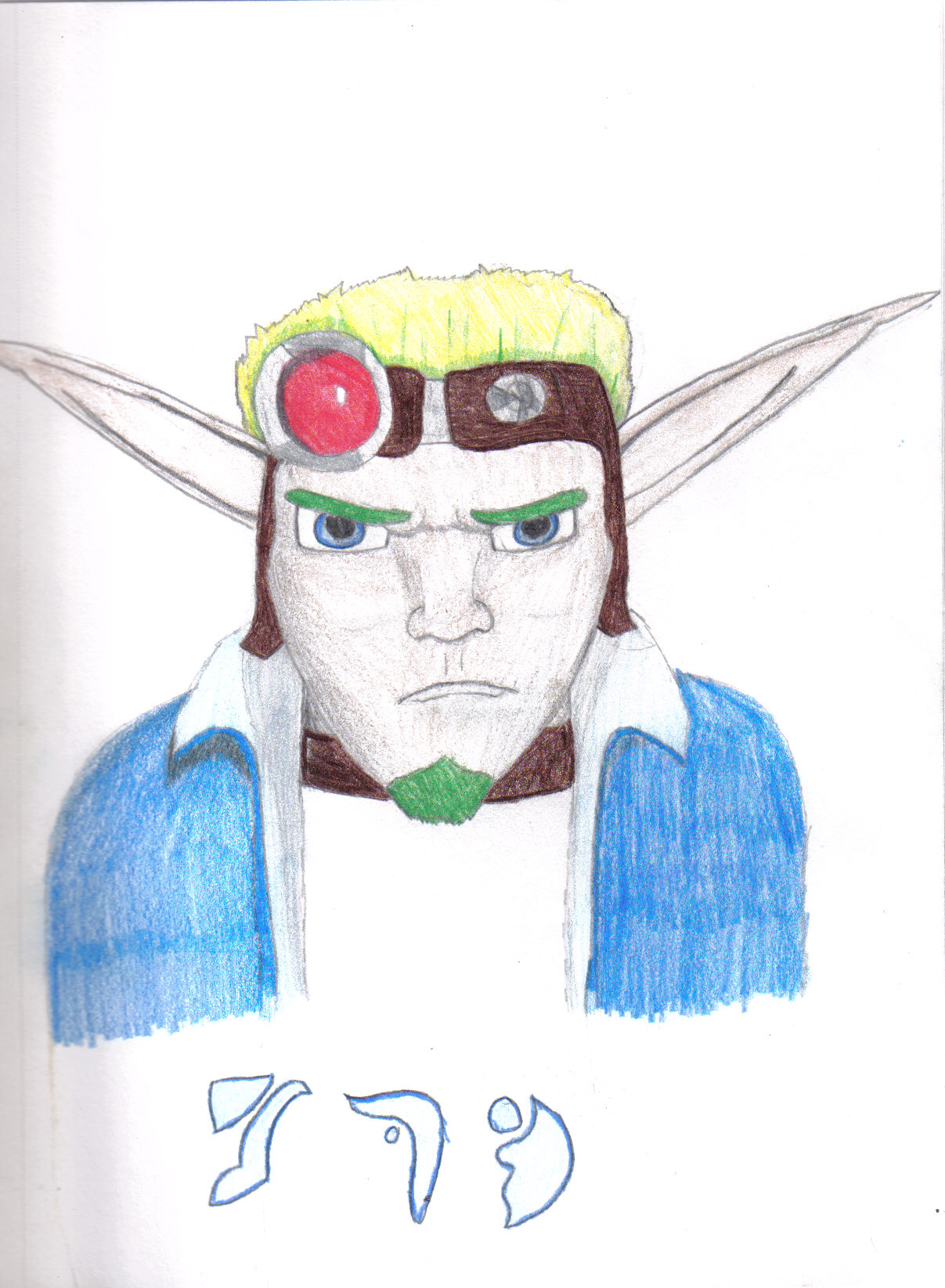 Jak From Jak X by jusedr
