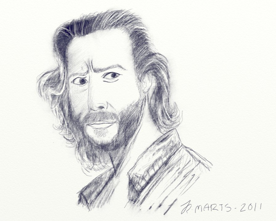 Desmond Hume LOST by jylm