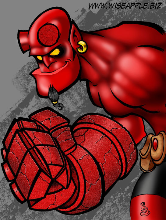 HELLBOY: Hand of Doom by KER1