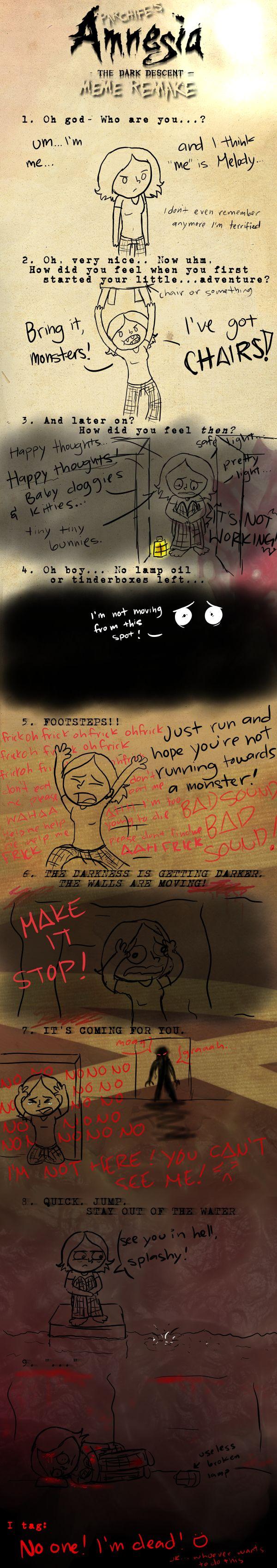 Amnesia Meme by KHwolf