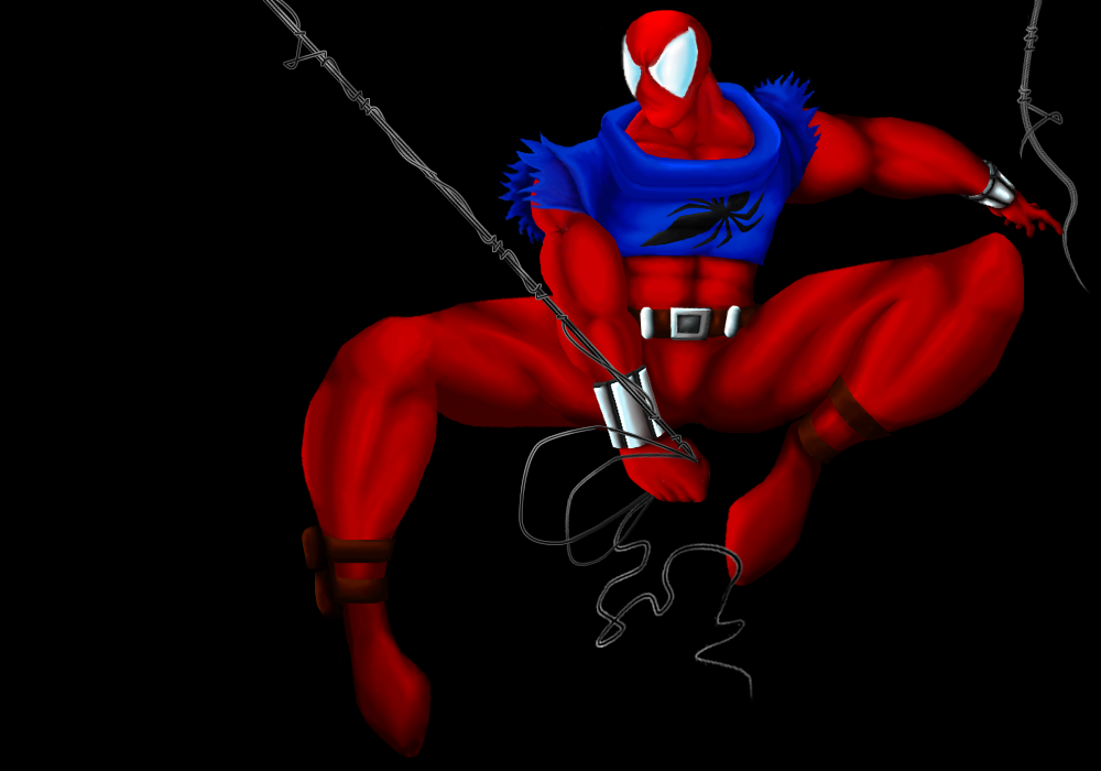 Scarlet Spider by KYnetiK