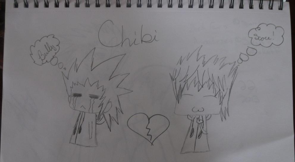 CHIBI Axel & Roxas by KadenSimsAdams