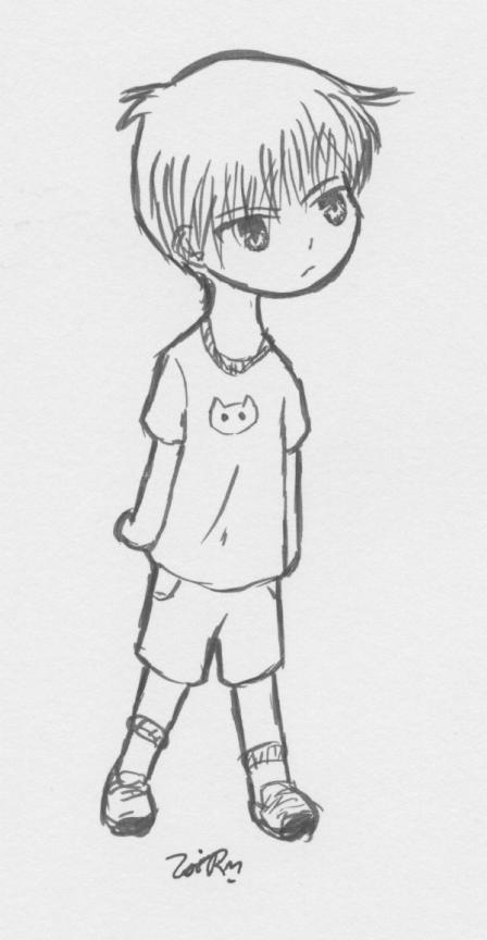 Little Kyo!  In Marker!! by Kaede-chan