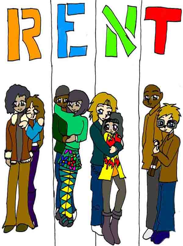 RENT Anime Style by Kafaru